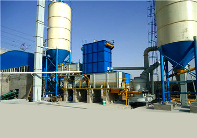 Hydrated lime production line
