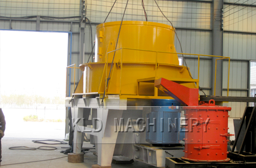 Impact sand making machine