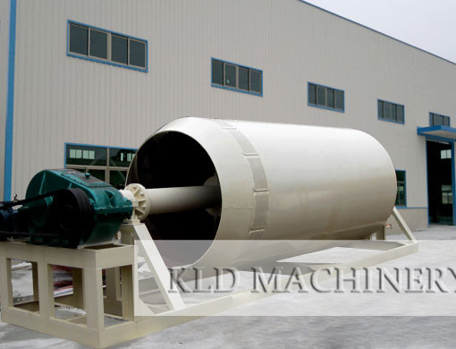 Cylinder type ore washing machine stone washer