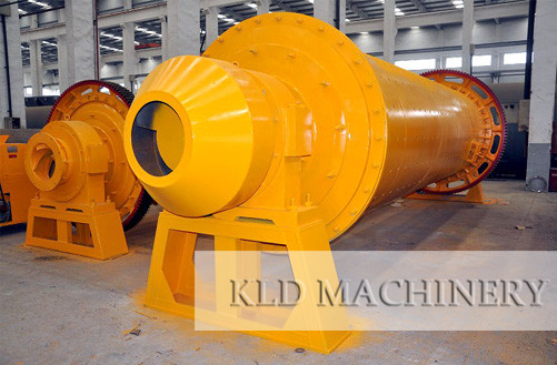 Dry process ball mill