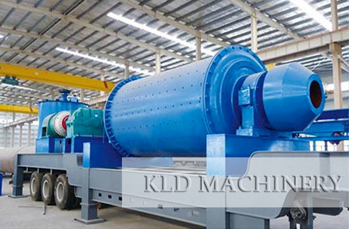 Movable ball mill