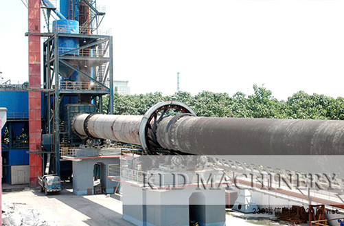 Soil ceramic rotary kiln