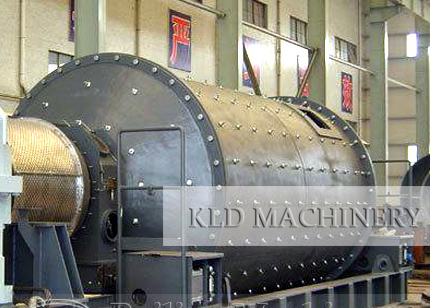Aluminium grinding ball mill